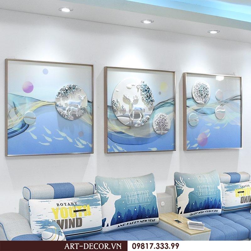 the gioi tranh trang tri noi that tranh trang tri 3d 3 - Thế giới tranh trang trí nội thất, tranh sắt, tranh tráng gương, tranh trang trí 3D