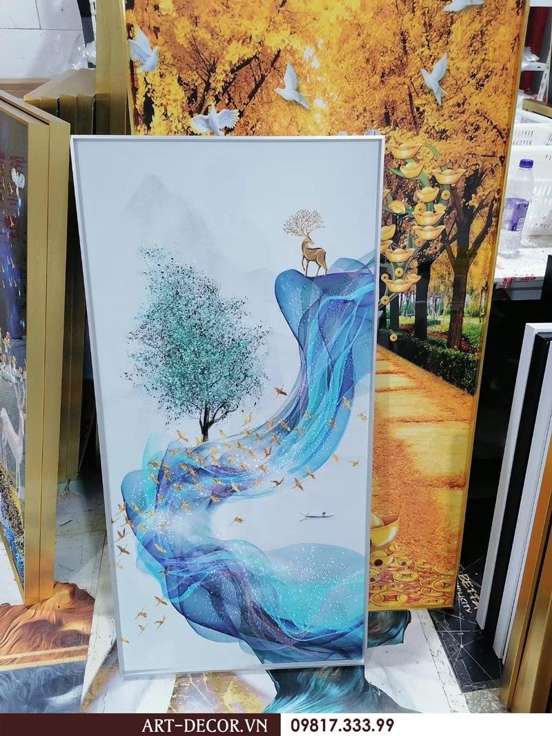 tranh trang guong cao cap - Tranh tráng gương-Album hình ảnh thực tế lắp đặt cho khách hàng PART 1