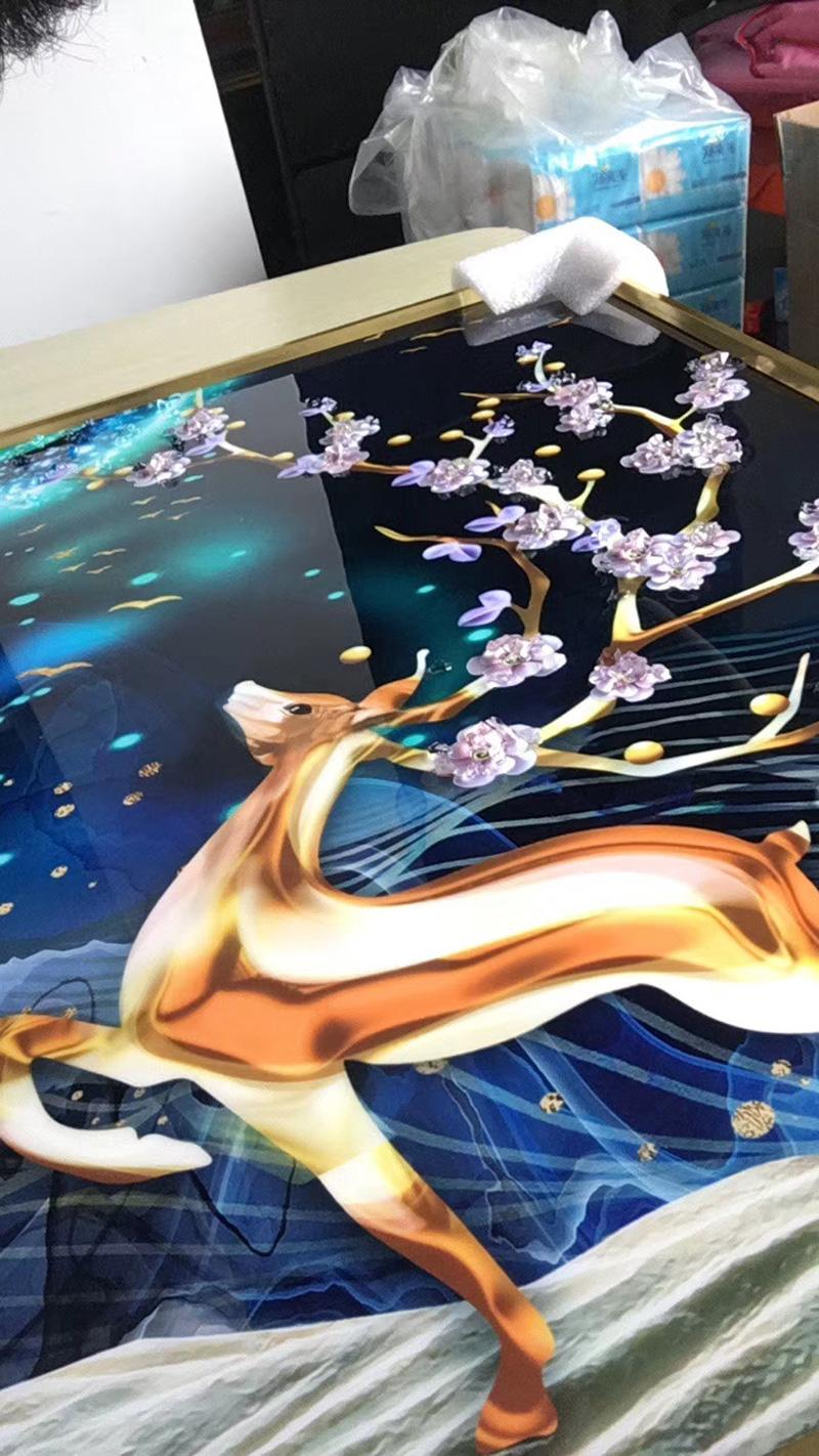 tranh trang guong chi tiet san pham 3 - Tranh tráng gương-Album hình ảnh thực tế lắp đặt cho khách hàng PART 1
